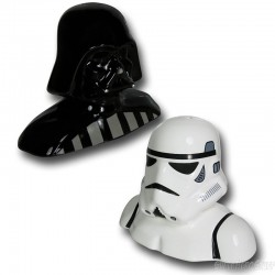 Star Wars. Salero y Pimentero Darth Vader y Stormtrooper