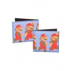 Cartera - Billetera Píxel Mario Nintendo