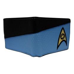 Cartera - Billetera Star Trek Azul Científico