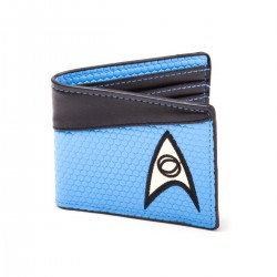 Cartera - Billetera Star Trek Azul Científico