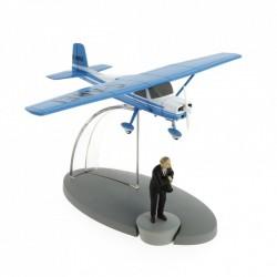 "Avión Tintín. Avión Azul Müller en ""La Isla Negra"""