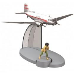 """Avión Tintín. Avión Air India en """"Tintín en el Tíbet"""""""