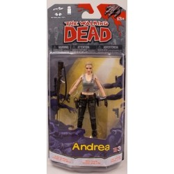 The Walking Dead. Figura de Acción de Andrea (Series 3 Cómics)