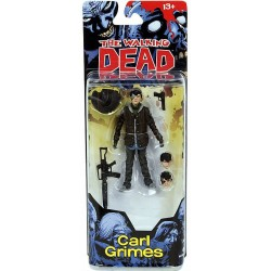 The Walking Dead. Figura de Acción de Carl Grimes (Series 4 Cómics)