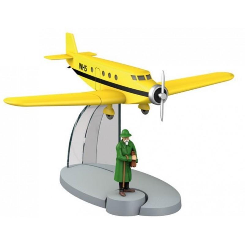 "Avión Tintín. Avión Personal de Basil Bazaroff en ""La Oreja Rota"""