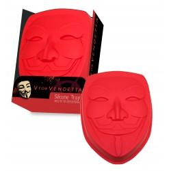 Molde de Silicona para Horno. Máscara V de Vendetta