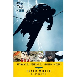 Batman el regreso del caballero oscuro ECC Comics Frank Miller
