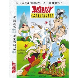 Asterix 1. Asterix Galiarra (Bilduma Handia) (Euskera)