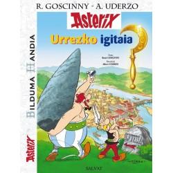 Asterix 2. Urrezko Igitaia (Bilduma Handia) (Euskera)