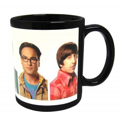 Taza The Big Bang Theory. Personajes