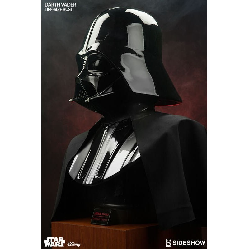 Star Wars. Busto Tamaño Real Darth Vader. Sideshow Collectibles