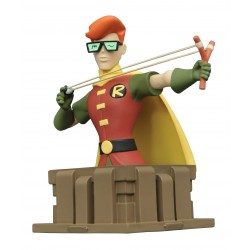 Robin. Busto de Carrie Kelly. Batman The Animated Series