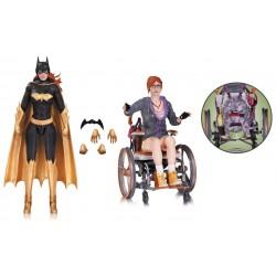 Pack Figuras de Acción. Batgirl y Oráculo. Batman Arkham Knight