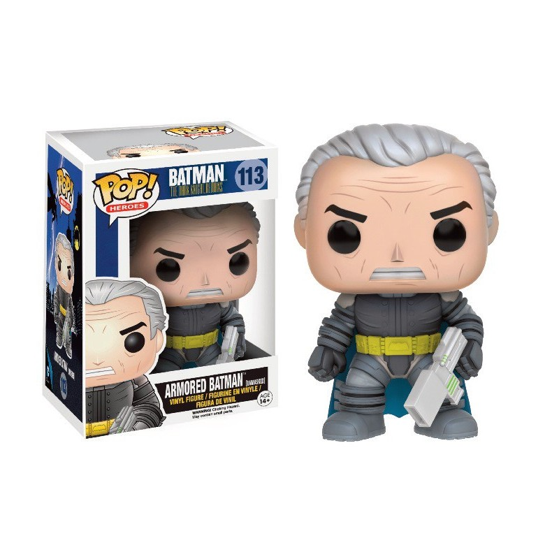 Armored Batman Unmasked The Dark Knight Returns POP Vinyl Funko