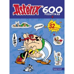 Astérix 600 Pegatinas Salvat