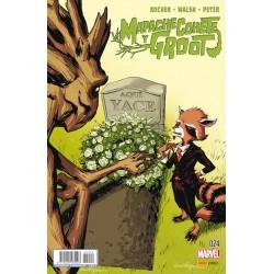 Mapache Cohete y Groot 24 Panini Comics Marvel