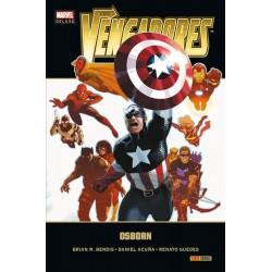 Los Vengadores 4 Osborn Marvel Deluxe Panini Comics