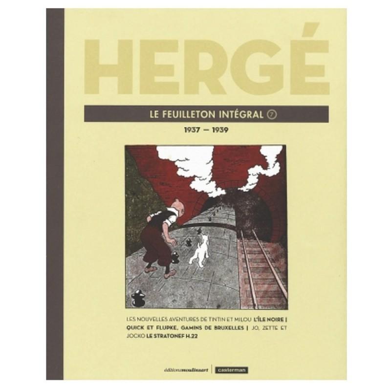 Tintin Hergé Le Feuilleton Intégral 7 1937-1939 Comprar Libro Francés