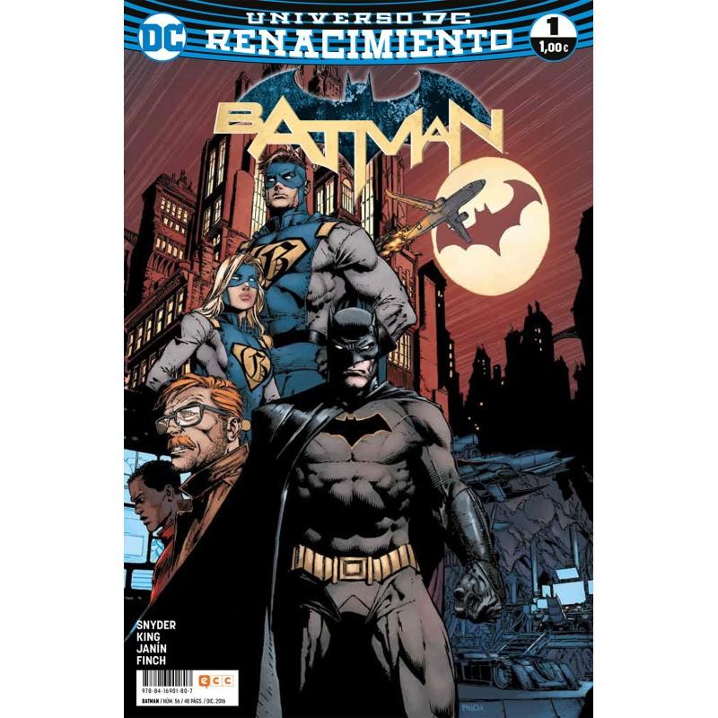 Batman 56 ECC Comics DC Renacimiento
