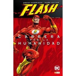 Flash de Grant Morrison y Mark Millar Carrera por la Humanidad ECC Ediciones Comic