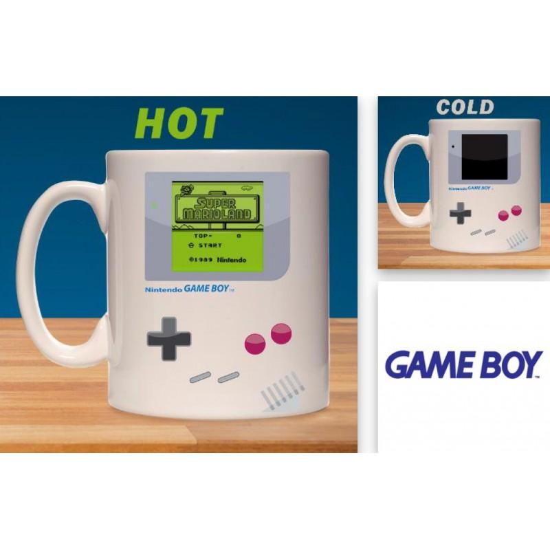 Taza Game Boy Cambio Paladone Mug Temperatura Sensitiva