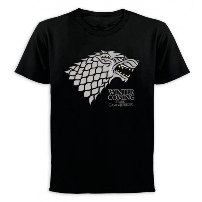 Camiseta Juego de Tronos Winter Is Coming Stark Comprar Oficial