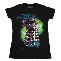 Camiseta Doctor Who Dalek Chica Comprar Oficial