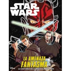 Star Wars La Amenaza Fantasma Adaptación Cómic Infantil Panini