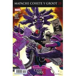 Mapache Cohete y Groot 25 Panini Comics