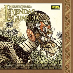 Mouse Guard Leyendas de la Guardia 3 Norma Comics