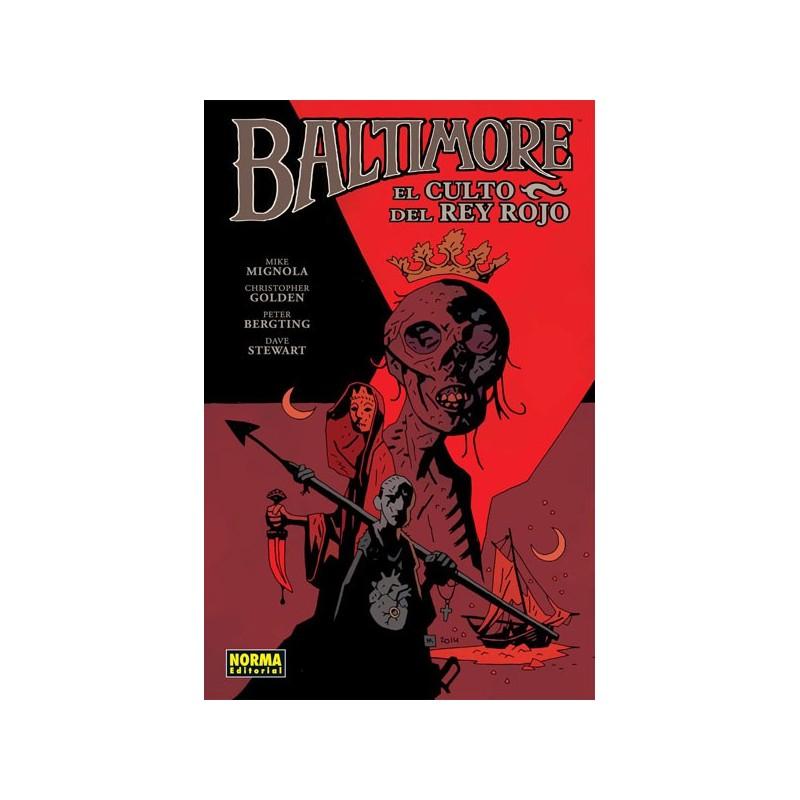 Baltimore 6 El Culto al Rey Rojo Norma Editorial Comics Mignola Golden