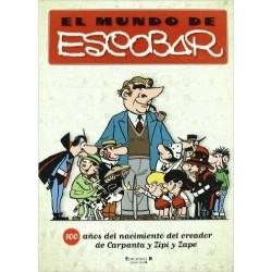 Comprar El Mundo de Escobar Libro Ediciones B Zipi y Zape Carpanta