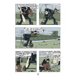 Tintin au pays des soviets reporter Color Edición Lujo Frances