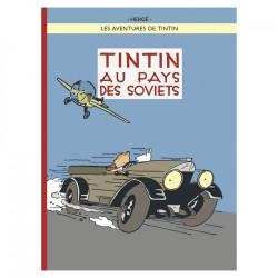 Tintin en el país de los soviets color en Frances