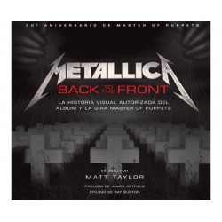 Libro Metallica Back to the Front Master of Puppets Norma Editorial