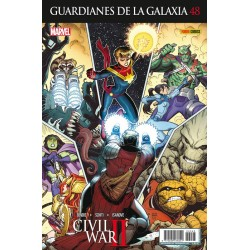 Guardianes de la Galaxia 48 Panini Comics Marvel
