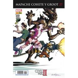 Mapache Cohete y Groot 27 Panini Comics guardianes de la galaxia