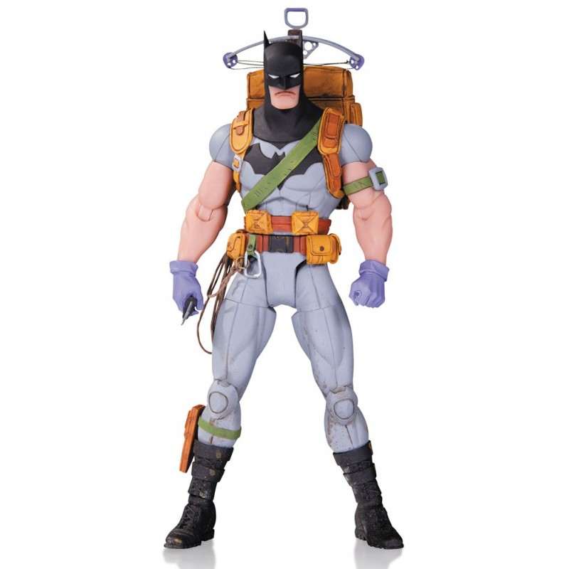 Figura Batman Survival Gear. Designer Series Greg Capullo