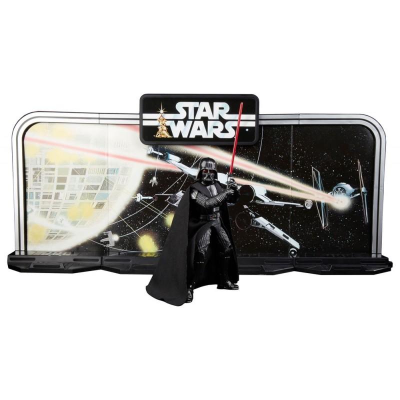 Darth Vader 40 Aniversario Star Wars Figura Black Series Legacy Pack