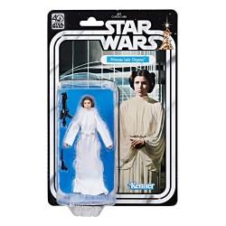 Princesa Leia 40 Aniversario Star Wars Figura Black Series Comprar