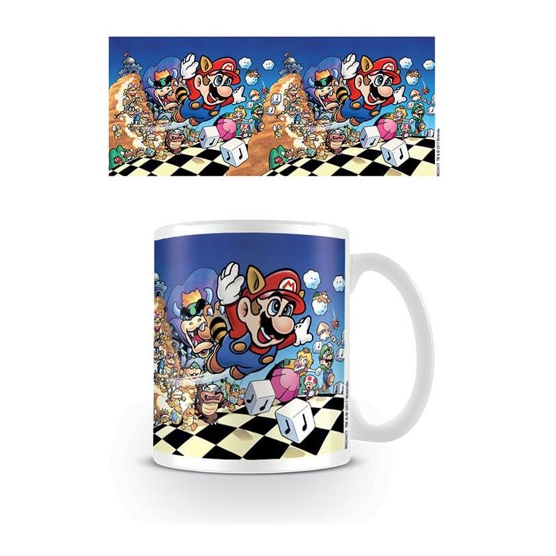 Taza Super Mario Bros 3