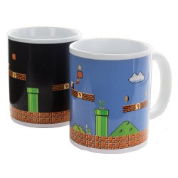 Taza Super Mario Bros Sensitiva al Calor