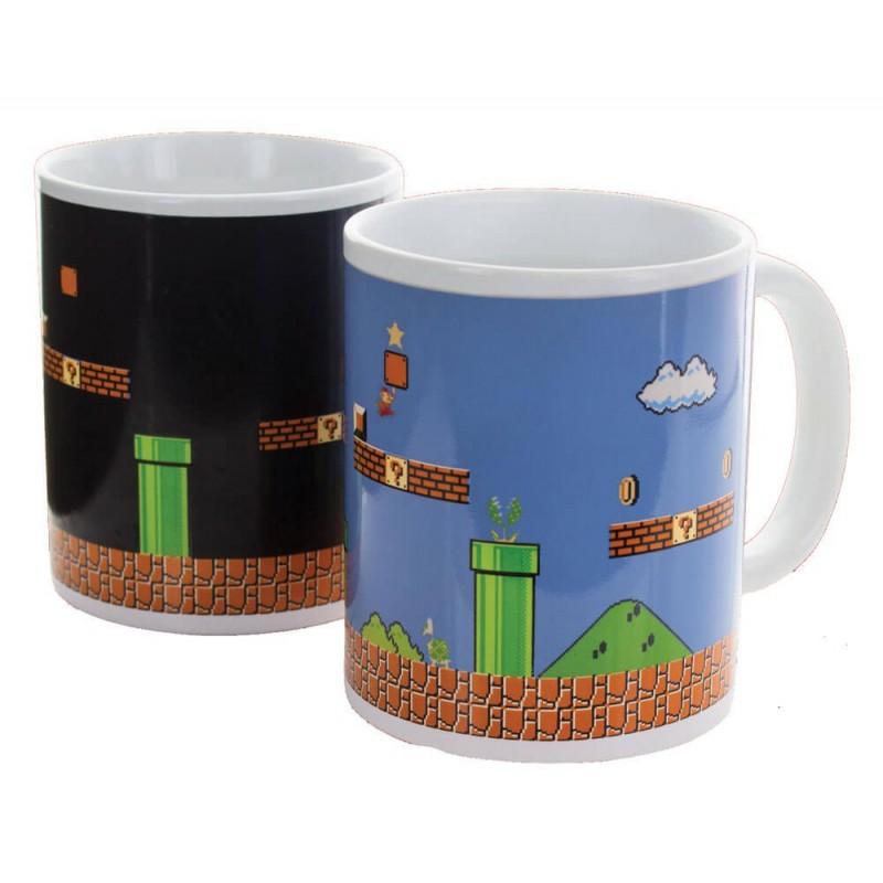 Taza Super Mario Bros Sensitiva al Calor