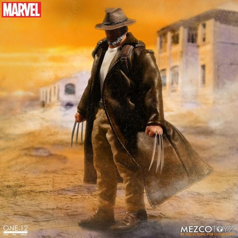 Figura Lobezno El Viejo Logan. Mezco