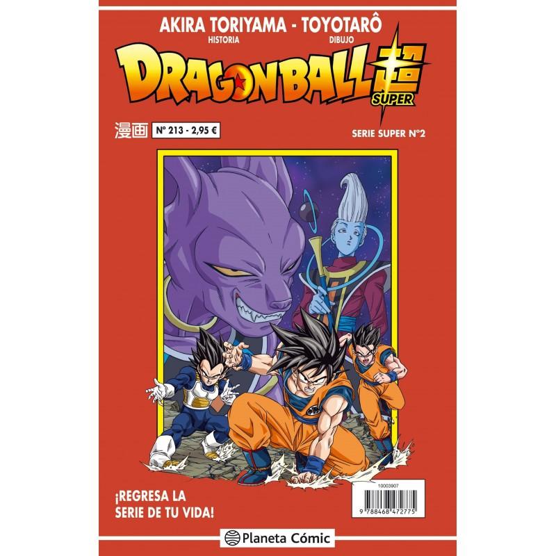 Dragon Ball 213. Serie Roja Planeta Comic Manga Toriyama