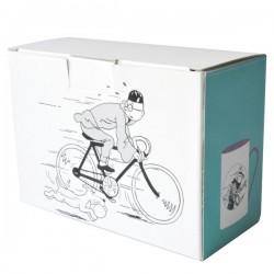 Tintín. Tazas Dúo Caballo y Bicicleta