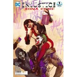 Injustice. Zona Cero 1 ECC Comics videojuego