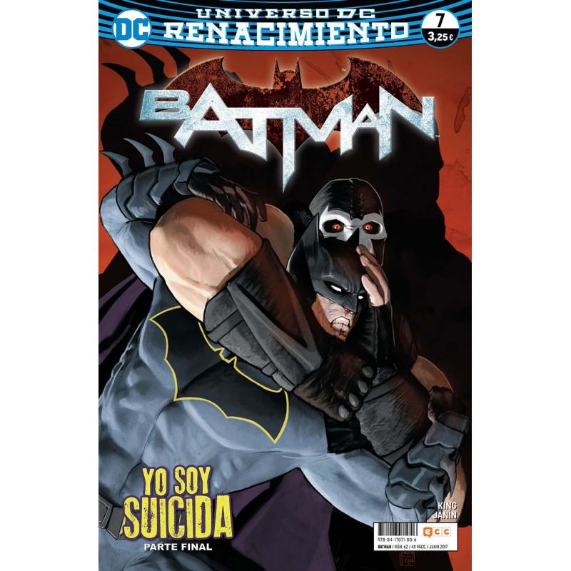 Batman 62 ECC Comics DC Renacimiento