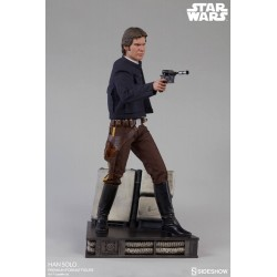 Estatua Han Solo Star Wars: El Imperio Contraataca Premium Sideshow