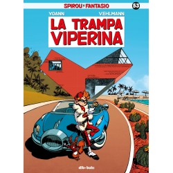 Spirou y Fantasio 53 La Trampa Viperina Dibbuks Comic Yoann Vehlmann